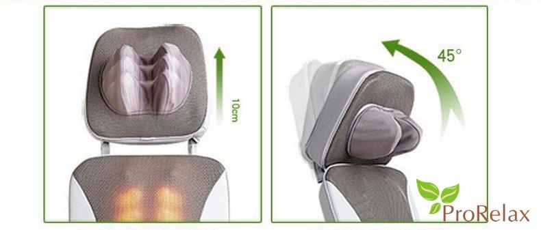 Накидка для массажа на кресло RT_2136 характеристики