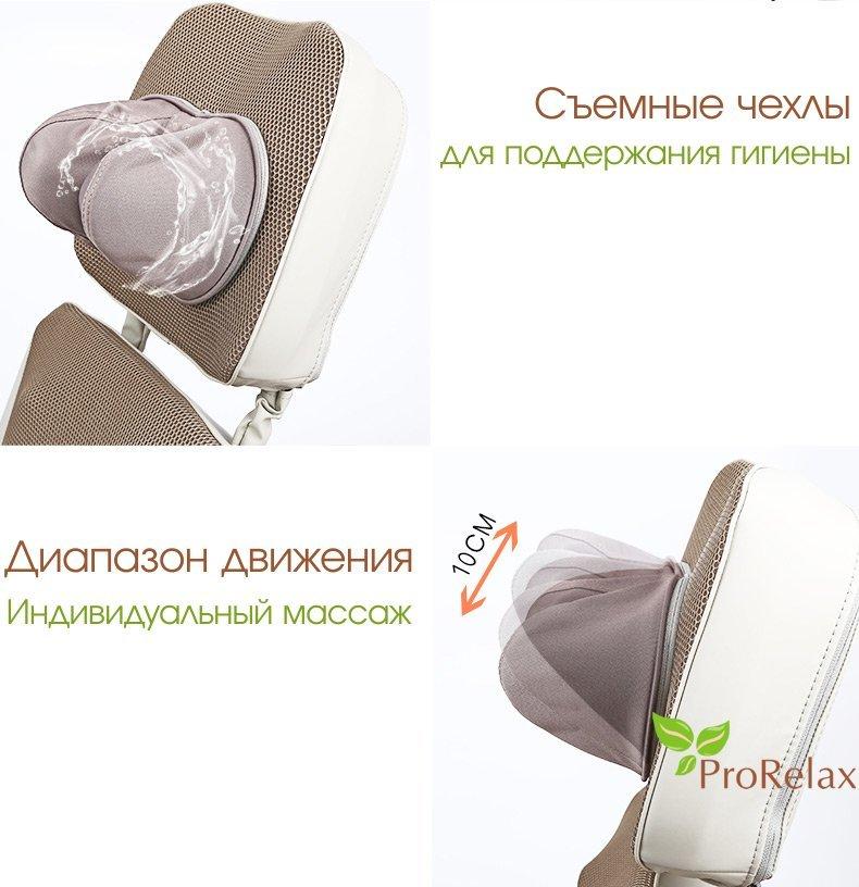 Накидка для массажа на кресло RT_2136 описание