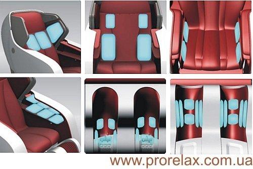 yamaguchi 6000 RT8600 массажное кресло