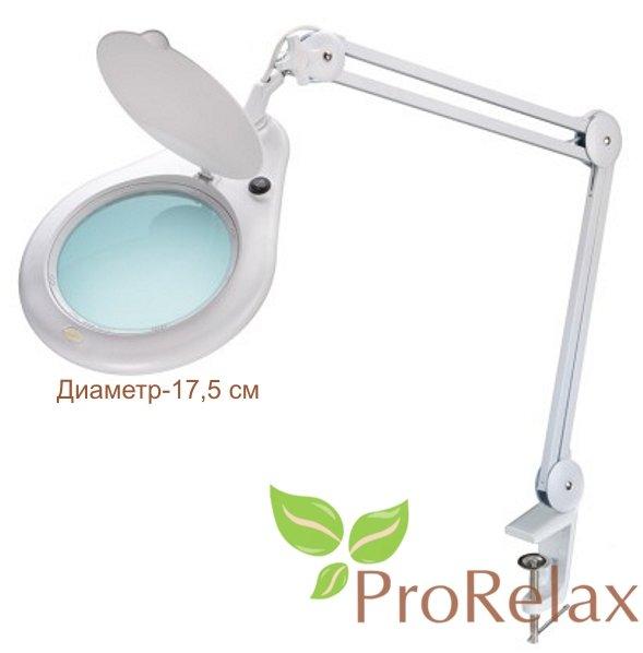 Лампа лупа настольная PR_171