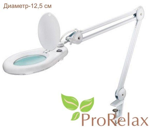 Лампа лупа настольная PR_172