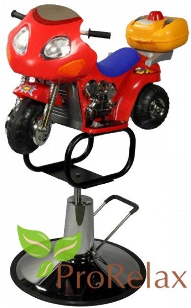 Парикмахерское кресло детское «Мотоцикл»