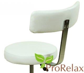 стульчик мастера со спинкой для салонов красоты