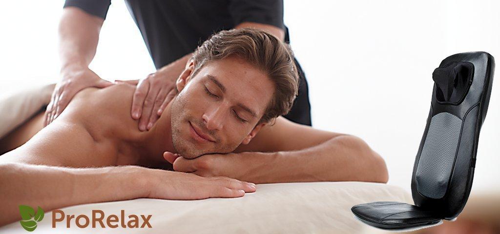 Накидка для массажа BackLine 2 с массажем шеи