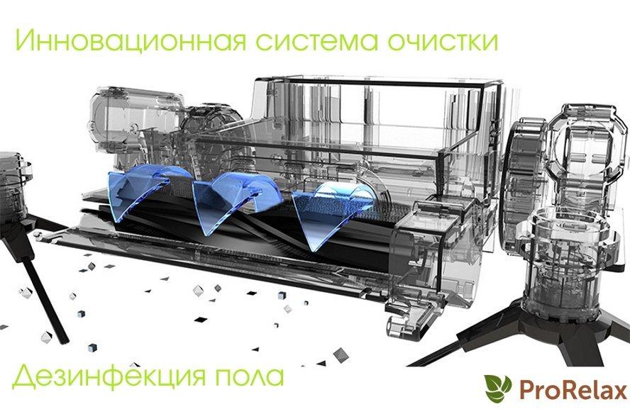 Робот пылесос либерти 5 в 1 система очистки