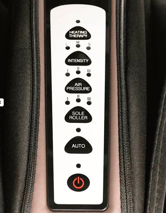 Массажер для ног Canoo 5 пульт управления