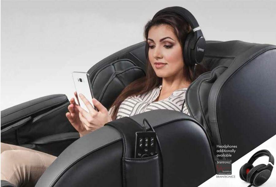 Массажное кресло betasonic 2 от casada черное