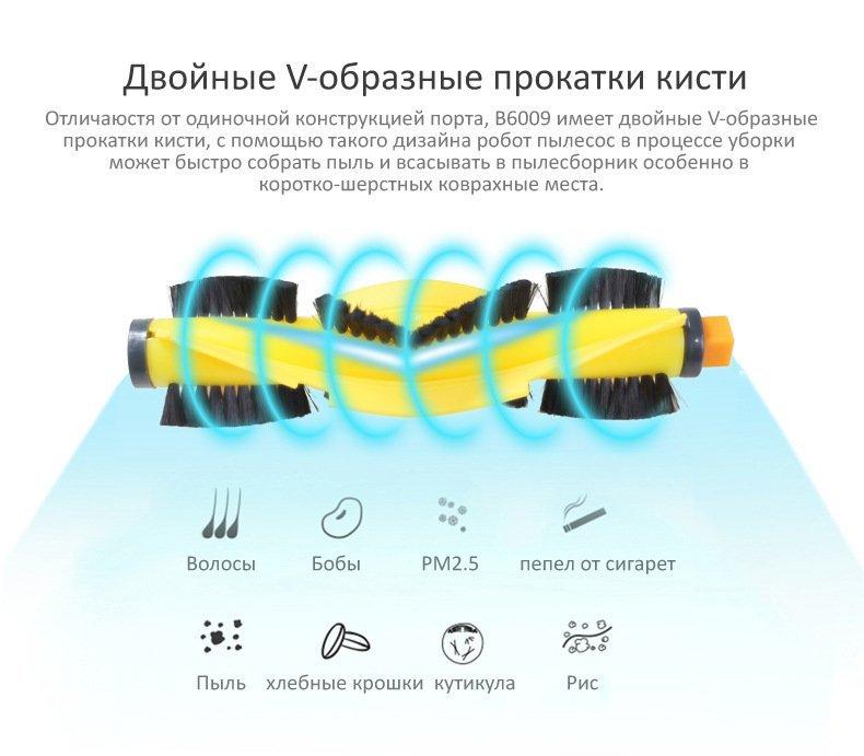 Робот пылесос щетка