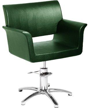 зеленное парикмахерское кресло annette