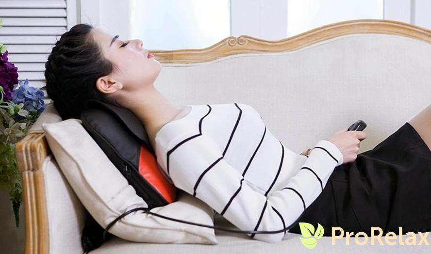 массажная подушка, массажные подушки